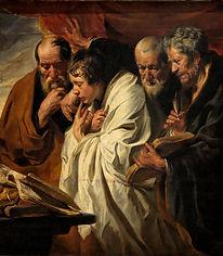 2 8  33775-Jordaens Saint Mark four evan