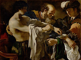 son 14485-Guercino prodigal son Luke 15.