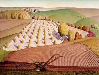 71310-Grant Wood Fall ploughing Matthew