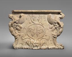 88667-Vine carved Roman table John 15.jp