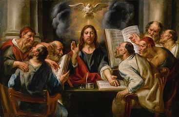 17 18 46666-Jacob Jordaens Jesus among p