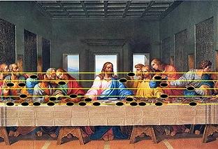 30717-Da Vinci last Supper Music Luke 9.webp