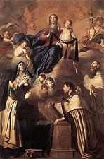 16634-OUr Lady of Carmel Pietro Novelli