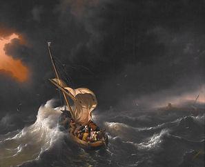 storm   94692-Backhuizen jesus calming s