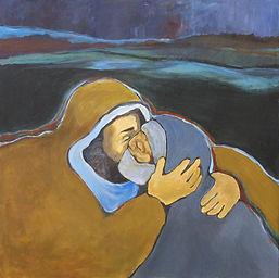 7942-Ann Lukesh Jesus heals leper mark 1