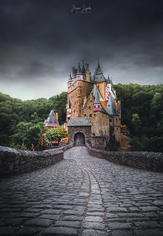 Burg Eltz With Some Mood