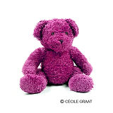 Pink Plush Toy Bear