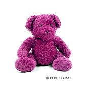 Pink Plush Toy Bear