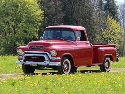 GMC Pickup Longbed - 1956