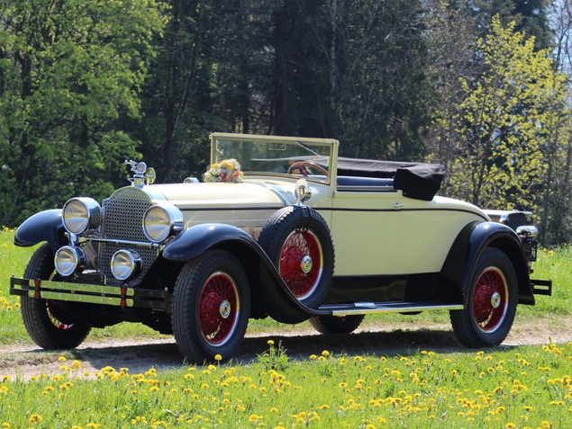 Packard 443 Convertible - 1927