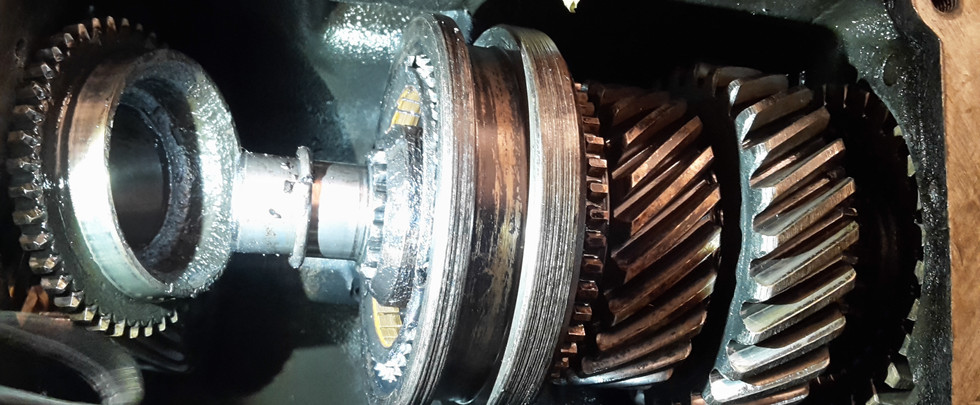 Packard 1953 - Getriebe