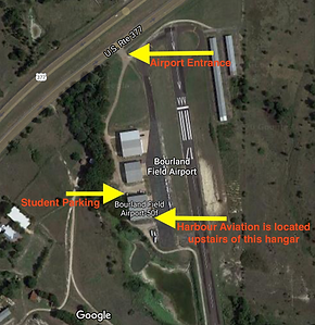 Harbour Aviation Directions at bourland field