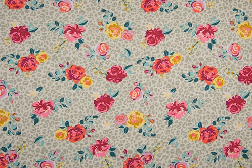"Jersey ""Roses"" ca. 145-150 cm breit -  16,90 m Abnahme 0,5 m"