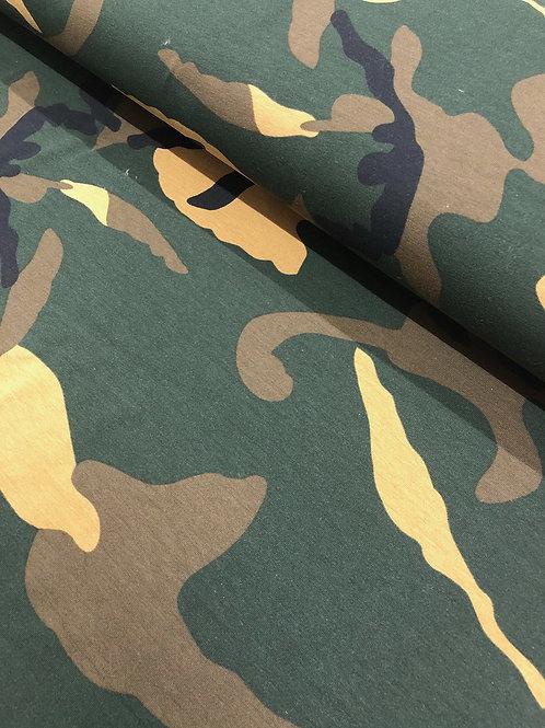 "Jersey ""Camuflage"" 14,90/m Abnahmemenge 0,5m"