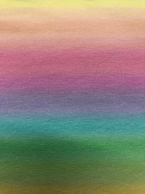 "Jersey ""Regenbogen"" € 21,90/m Abnahmeeinheit 0,5 m"