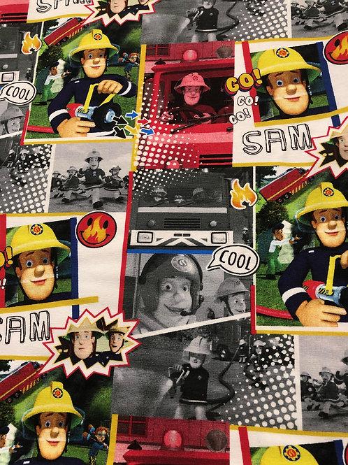 """Jersey """"Feuerwehrmann Sam"""" € 27,90/m Abnahmeeinheit 0,5 m"""