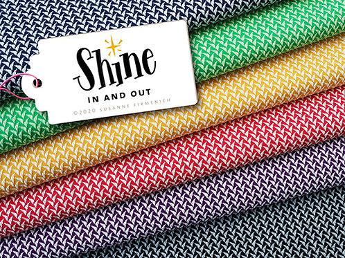 "Albstoffe JacquardJersey  SHINE""in and out"" € 27,95 m/Abnahme 0,5 m"