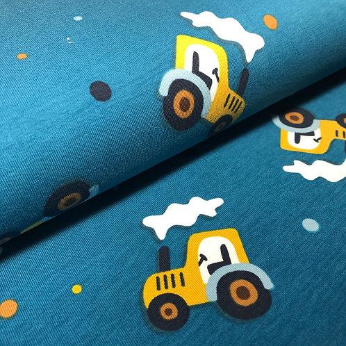 """Jersey """"Traktor"""" € 14,90/m Abgabeeinheit 0,5 m"""