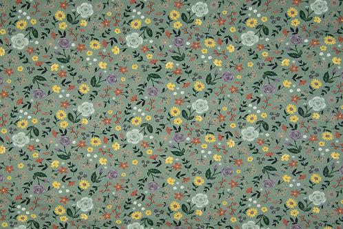 """Jersey """"Blumen"""" 15,90/m Abnahmeeinheit 0,5m"""
