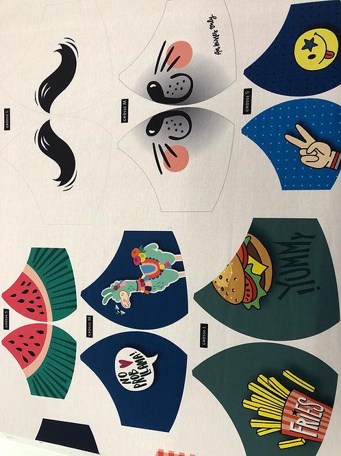 Albstoffe Bio Maske-Community € 3,00/Stück Abnahme 1Stück