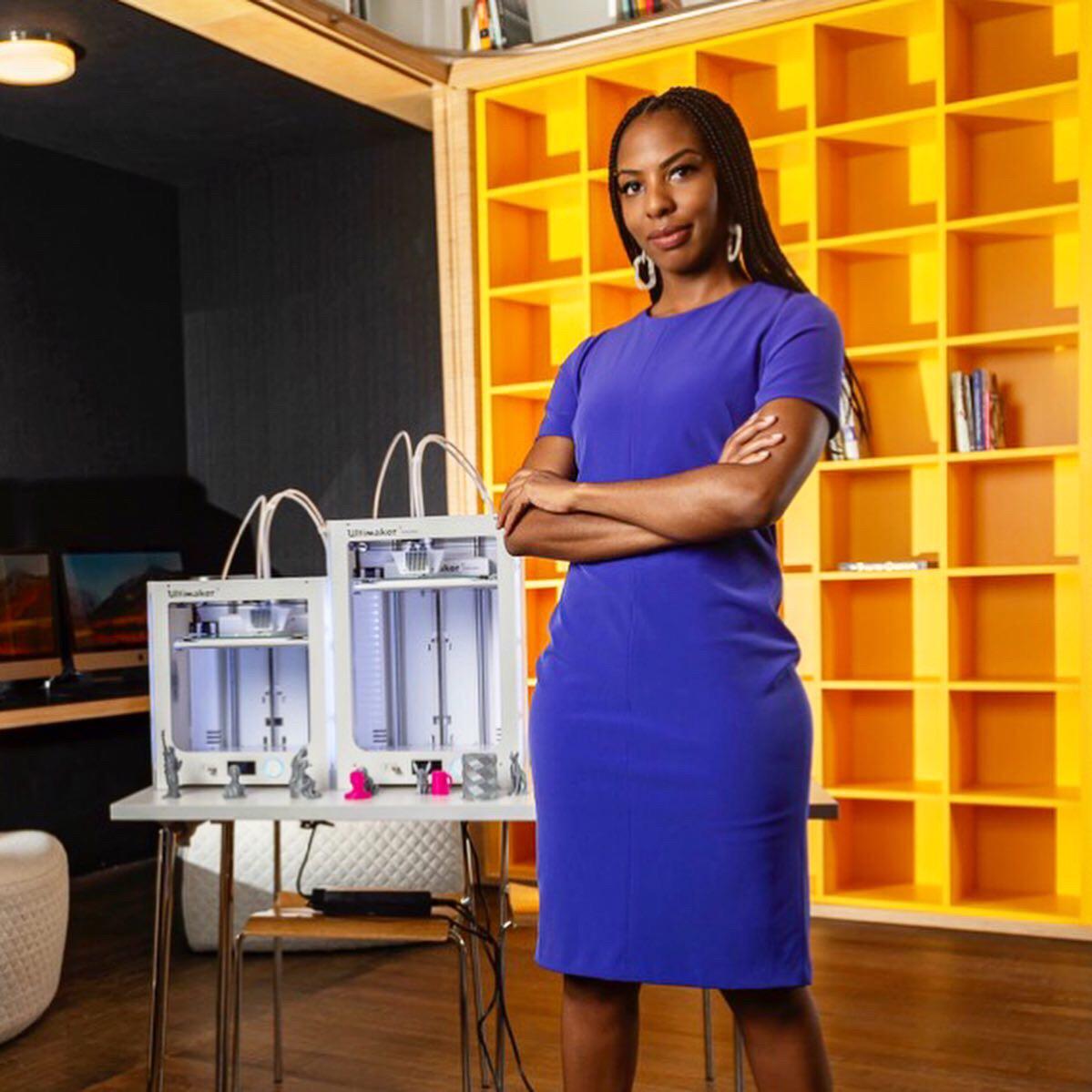 Women in 3D printing - Chloe Taylor