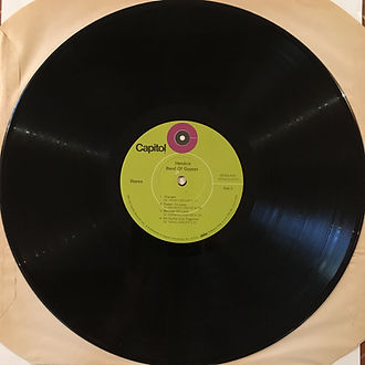 jimi hendrix vinyl/band of gypsys 2nd pressing  1970