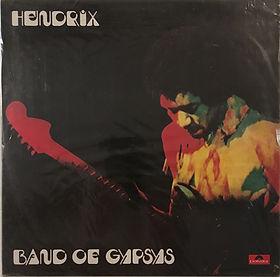 jimi hendrix collector vinyls/album/LP/band of gypsys 1990 south korea polydor records
