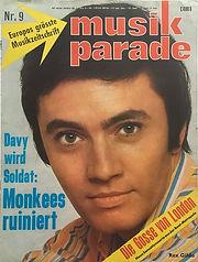 jimi hendrix magazines 1967 /musik parade april 1967