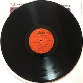 jimi hendrix album vinyl/side 1 banda de gitanos argentina 1975