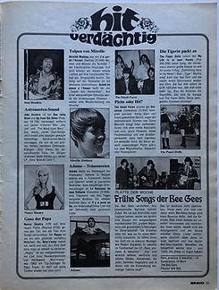 jimi hendrix magazines /review :one rainy wish /up from the skies bravo august 5 1968