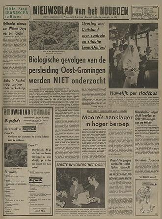 jimi hendrix newspapers 1970 / nieuwsblad van het noorden : may 30,1970
