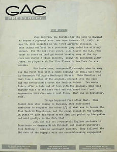 collector press kit first page 1968