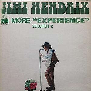 jimi hendrix album vinyl/more experience volumen 2