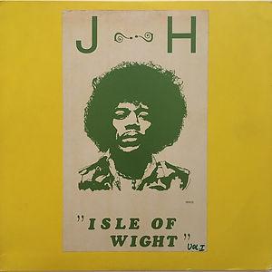 jimi hendrix bootlegs vinyls 1970 / j-h isle of wight   vol. 1