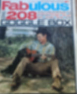 jimi hendrix newspaper/fabulous 208/ 23/9/1967