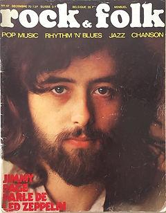 jimi hendrix magazines 1970 death/ rock & folk : december 1970
