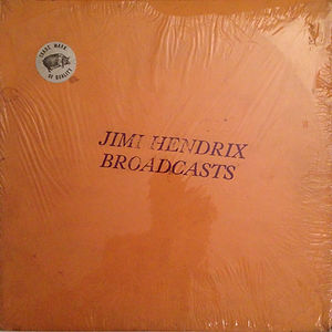 broadcasts TMOQ vinyls bootlegs /jimi hendrix collector