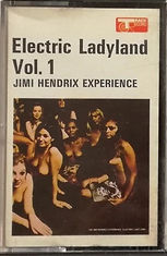 jimi hendrix collector / electric ladyland cassette track record vol 1