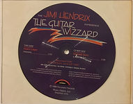 jimi hendrix collector singles bootlegs picture disc the guitar wizzard