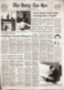 jim hendrix newspapers 1969/ the daily tar heel: april 11, 1969