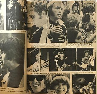 jimi hendrix collector magazines 1967/tiger beat magazine september 1967 jimi hendrix monterey pop festival articles