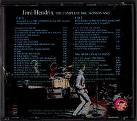 jimi hendrix collector bootlegs cds /jimi hendrix the complete bbc session and....