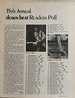 jimi hendrix magazines 1970 death/ down beat : december 1970