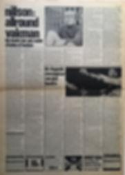 jimi hendrix newspapr 1968/ hit week 22/11/68 electric ladyland