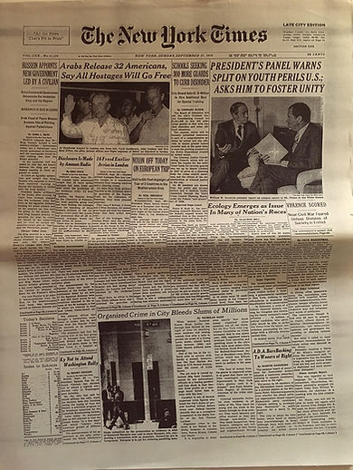 jimi hendrix newspapers: the new york times /  September 27, 1970