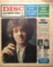 jimi hendrix newspaper 1968/ disc & music echo november 21968