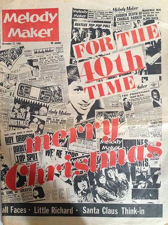 jimi henrix newspaper/melody maker 17/12/66