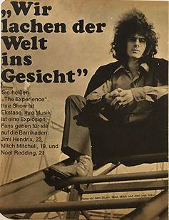 jimi hendrix magazine collector rotily/bravo 18 september 1967