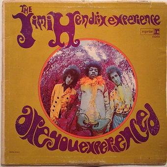 jimi hendrix collector rotily patrick vinyl/are you experienced  mono