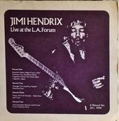 jimi hendrix bootlegs vinyls albums 1970 /live at the forum bread & circus